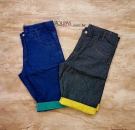 Bermuda Jeans Masculina Basic
