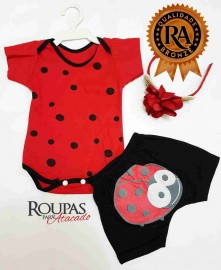 Conjunto Body com shortinho feminino