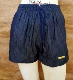 Short Jeans Curto Mescla