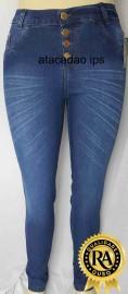 Calça Jeans Plus Size Cintura alta