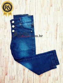 Calça Jeans Infantil Feminina 2 a 8 anos