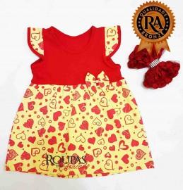 Vestidos, conjuntos e bodys infantis feminino