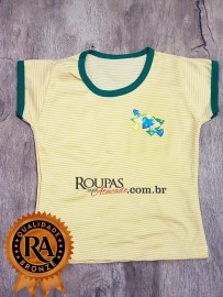 Blusa Infantil Brasil