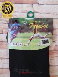 Meiao de Futebol Juvenil Liso